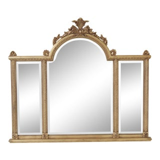 Labarge Gold Framed Overmantle or Sideboard Mirror For Sale