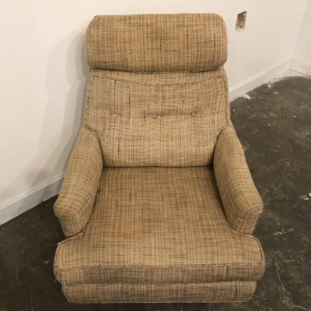 Mid-Century Modern Mid-Century Modern Dunbar High Back Club Chair For Sale - Image 3 of 8