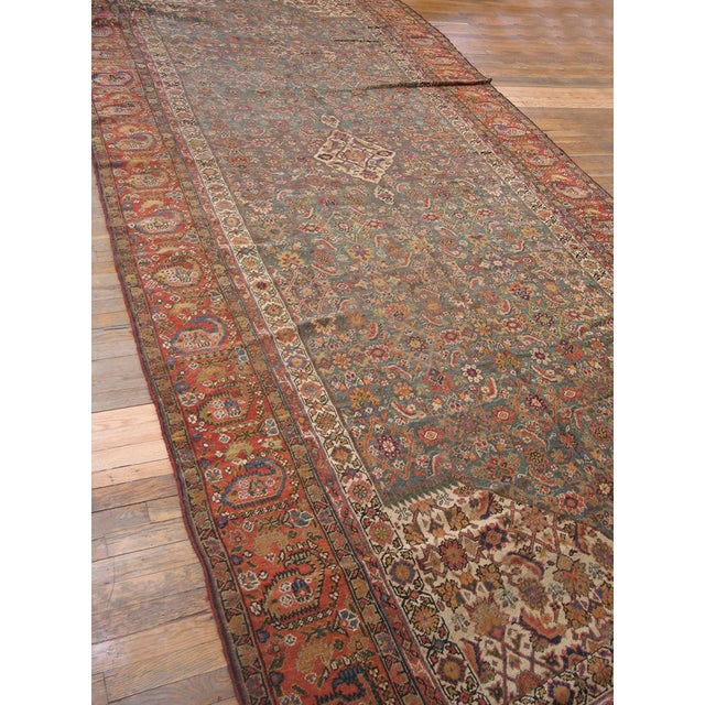 """Textile Antique Nw Persian Rug 6'10"""" X 17'0"""" For Sale - Image 7 of 8"""