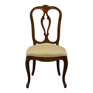 Late 20th Century Century Furniture Chardeau Collection Country French Provincial Side Chair For Sale
