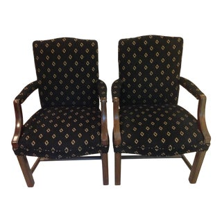 Accent Side Arm Chairs - a Pair For Sale