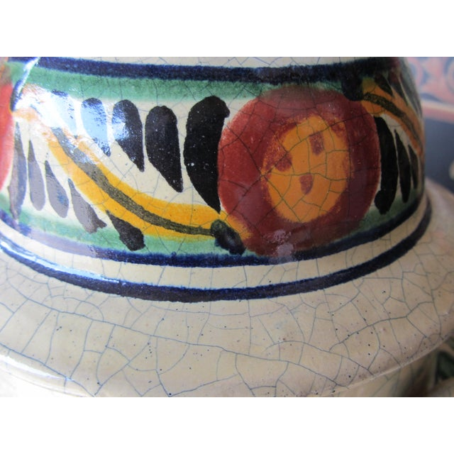 Mexican Pottery Decorative Jar - Image 4 of 9