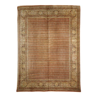 """Late 19th Century Persian Tabriz Rug - 8'0"""" X 10' 8"""" For Sale"""