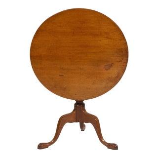 Queen Anne Tilt-Top Tea Table, C. 1760 For Sale