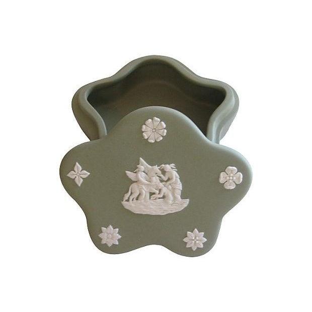 Wedgwood Jasperware Vanity Set - 4 Pieces For Sale - Image 5 of 5