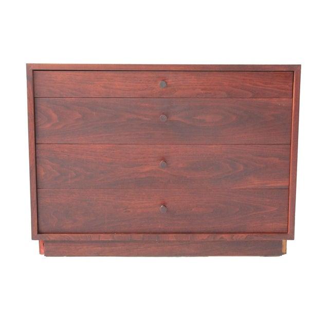 Vintage Mid-Century Modern Walnut 4-Drawer Dresser - Image 1 of 7