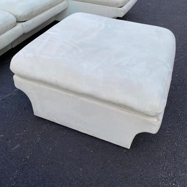Vladimir Kagan for Preview 7 Piece Modular Sectional For Sale - Image 12 of 13