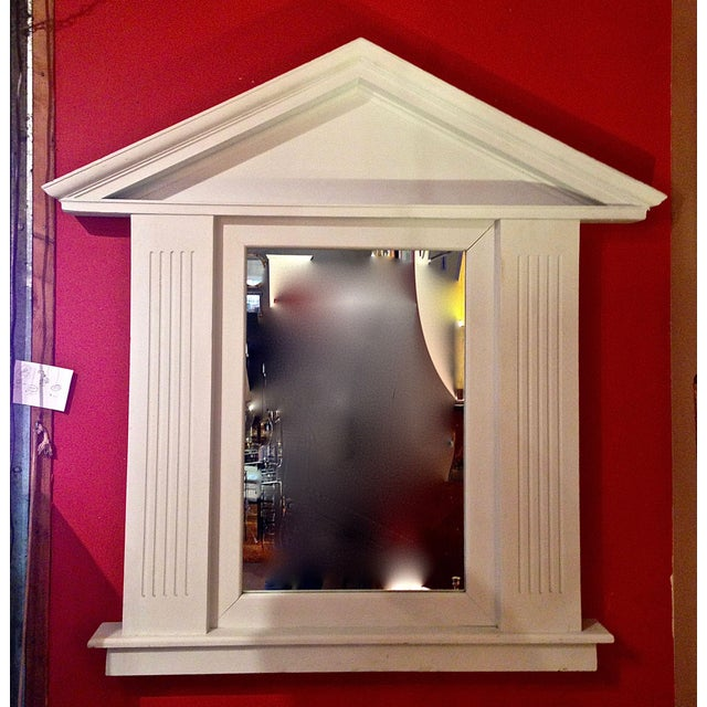 Large Palladian Style Architectural Mirror For Sale - Image 13 of 13