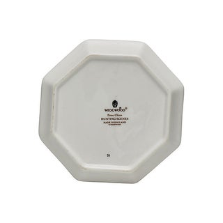 Wedgwood Hunting Scene Octagonal Plate Preview