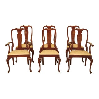 Henkel Harris Model #105 Cherry Dining Room Chairs - Set of 6 For Sale