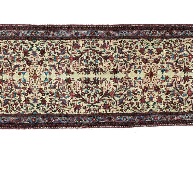 Islamic Leon Banilivi Persian Tafresh Rug - 2′7″ × 6′9″ For Sale - Image 3 of 5