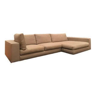 "$18k Minotti ""Hamilton"" Element by Rodolfo Dordoni Italian Modern Sectional Sofa For Sale"