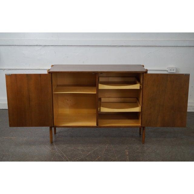 Danish Modern Mid Century Modern 2 Door Server Cabinet For Sale - Image 9 of 10