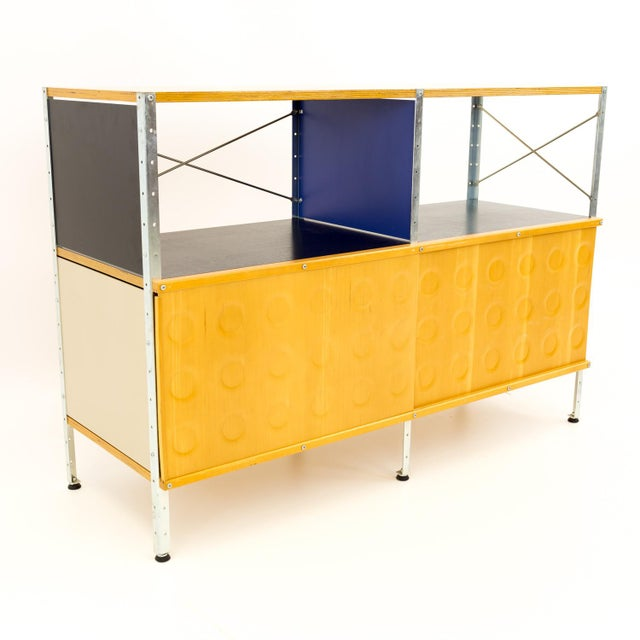 Mid-Century Modern Charles and Ray Eames for Herman Miller Esu Storage Unit Shelves For Sale - Image 13 of 13