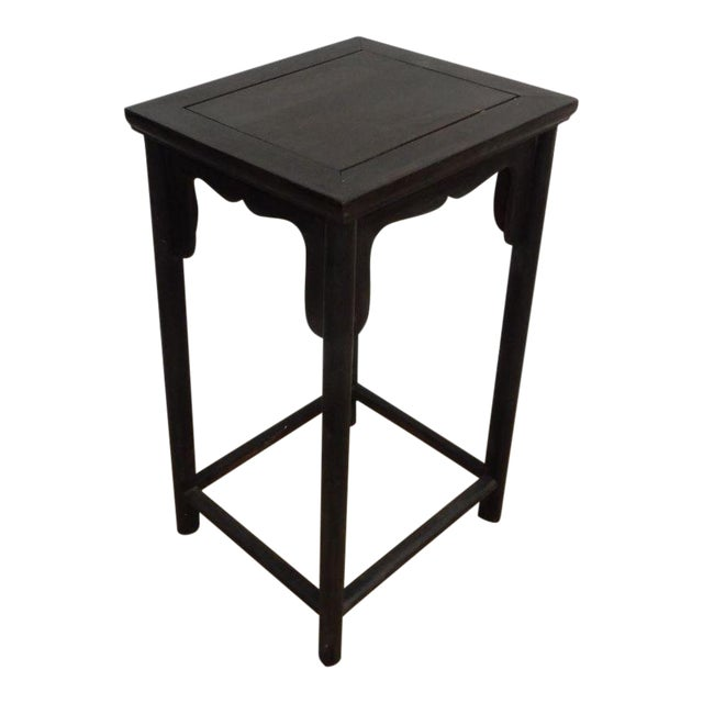Antique Chinese Zitan Wood Side Table - Image 1 of 11