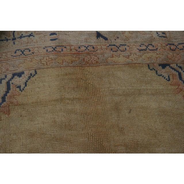 Semi-Antique Turkish Oushak Rug - 10′ × 13′3″ For Sale - Image 10 of 13