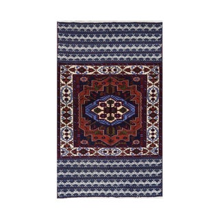 Persian Ghochan Tribal Rug - 3' x 5' For Sale