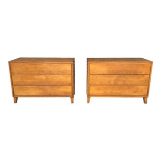 Mid Century Conant Ball Chests of Drawers- a Pair For Sale