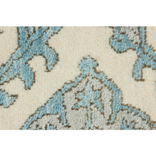 """New Oushak Hand-Knotted Rug - 2' 8"""" X 4' 5"""" - Image 3 of 3"""