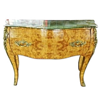 Louis XV Bombe Commode Chest Server