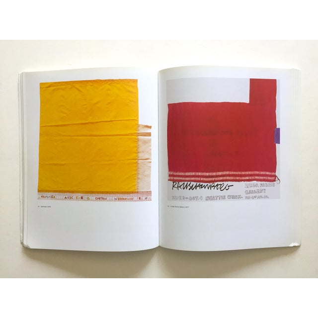 "Paper "" Rauschenberg Posters "" Rare First Edition Collector's Lithograph Print Modern Art Book For Sale - Image 7 of 13"