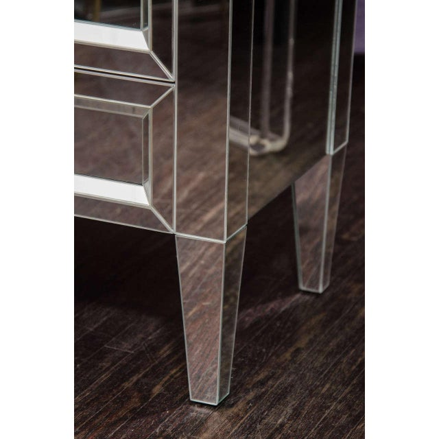 Custom Mirrored End Table. You can make this in any type of mirror with any dimensions. All pieces are priced to size.