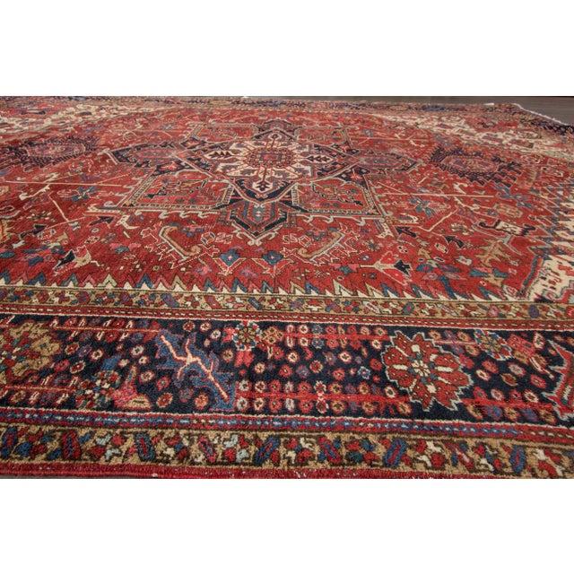 "Apadana - Vintage Persian Rug, 9'3"" x 12'7"" For Sale - Image 5 of 7"
