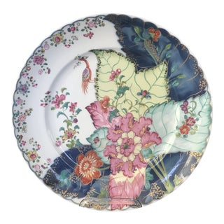 Mottahedeh Tobacco Leaf Dinner Plate For Sale