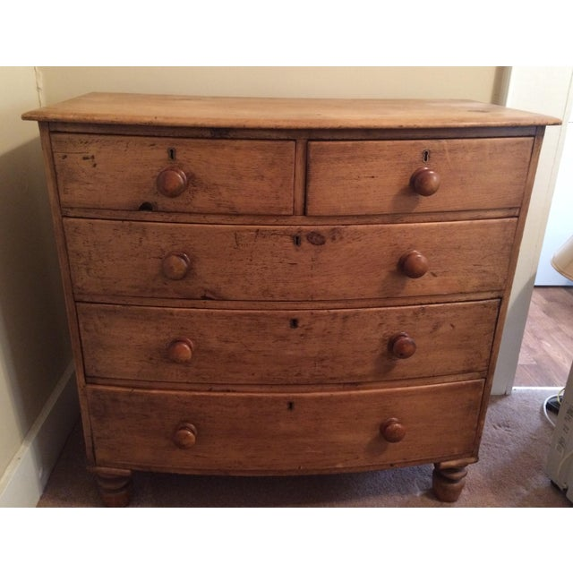 Pine 19th Century English Pine Dresser For Sale - Image 7 of 8