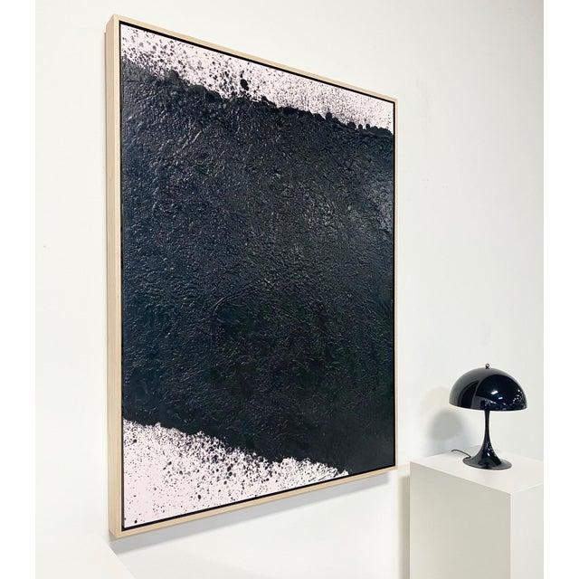 "2020s Exclusive John O'Hara ""Tar, 16"" Encaustic Painting For Sale - Image 5 of 7"