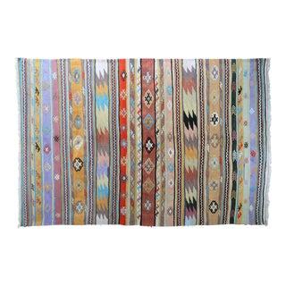 "Anatolian Handmade Kilim Rug-5'5'x8'2"" For Sale"