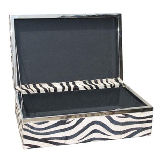 Sarreid LTD Zebra Box