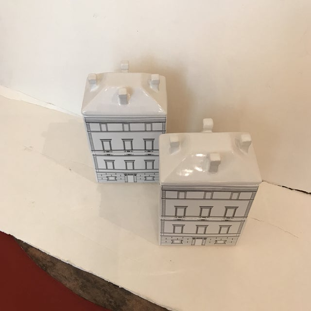 Architectural Canisters - a Pair - Image 4 of 5