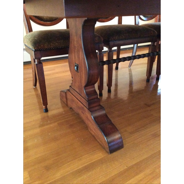 Bernhardt Dining Table and 8 Chairs - Image 7 of 8