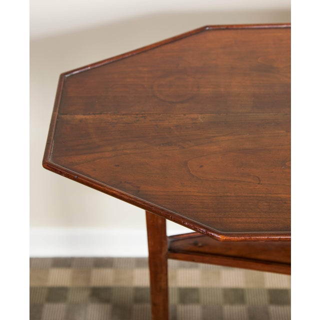 Neoclassical 19th Century Neoclassical Directoire Mahogany Trestle Table For Sale - Image 3 of 10