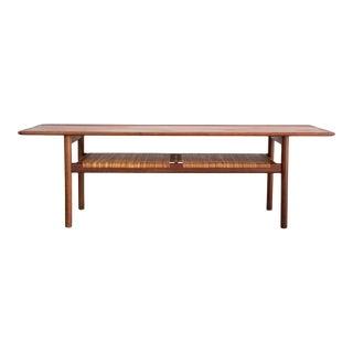 Stunning Hans J. Wegner At-10 Coffee Table For Sale