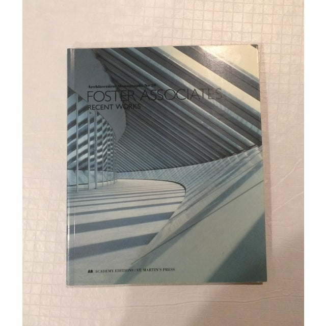 """""""Foster Associates: Recent Works"""" Architectural Monographs, No 20 Book For Sale - Image 13 of 13"""