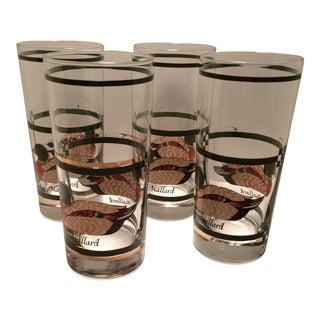 Vintage Mallard Duck Hi-Ball Glasses - Set of 4 For Sale