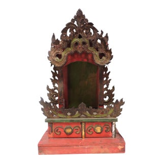 Small Burmese Shrine For Sale