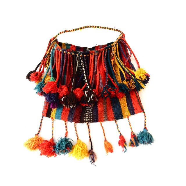 Moroccan Tribal Dry Flowers Bag - Image 1 of 4