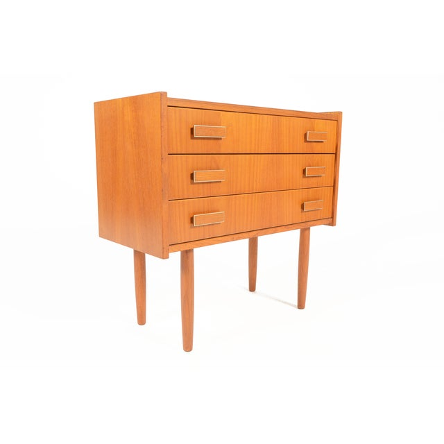 Danish Modern Ejsing Mobelfabrik 3-Drawer Chest - Image 6 of 10