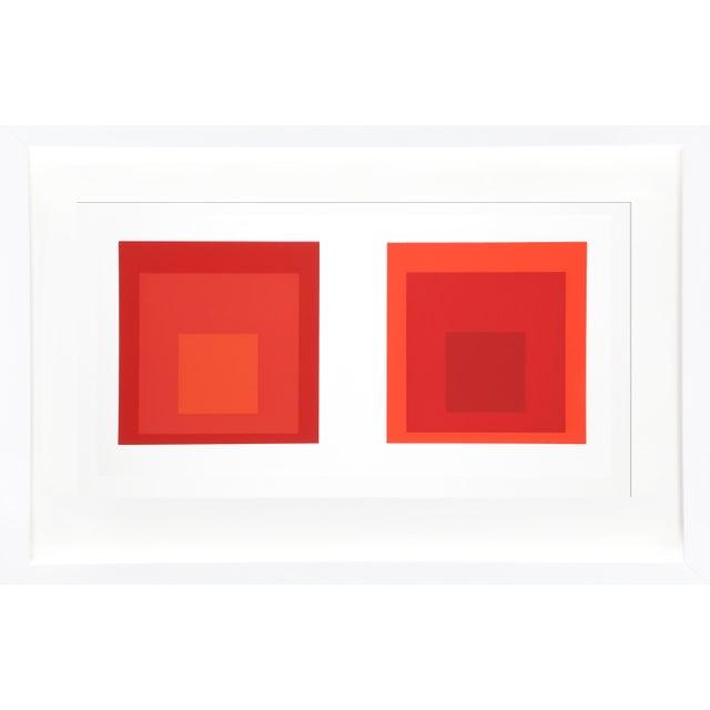 Josef Albers Josef Albers - Portfolio 2, Folder 27, Image 2 Framed Silkscreen For Sale - Image 4 of 4