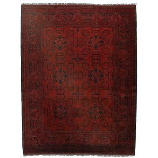 Persian Turkmen Wool Rug - 5′1″ × 6′5″ For Sale