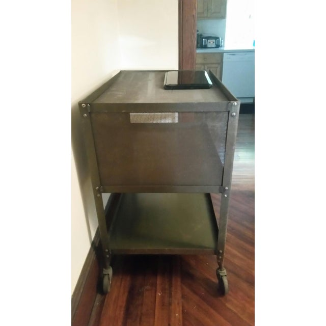 Grey-Green Industrial Machinists Cart - Image 3 of 3