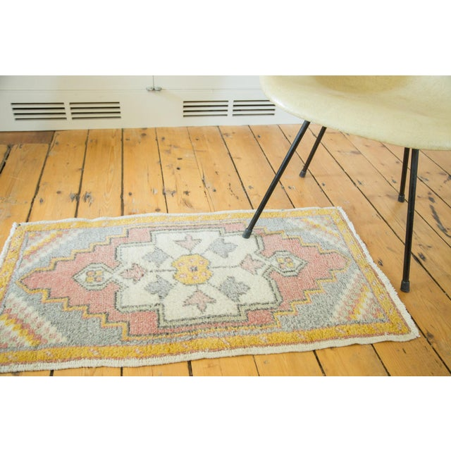 "Vintage Turkish Oushak Rug - 1'9"" x 3'3"" - Image 2 of 6"