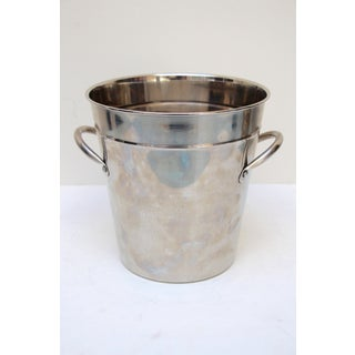 Silverplated Ice Bucket with Handles Preview