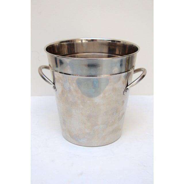 Silverplated Ice Bucket with Handles - Image 2 of 7