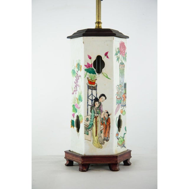 Chinoiserie Ginger Jar Table Lamp For Sale In Atlanta - Image 6 of 13