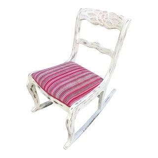 Vintage Duncan Phyfe Petite Rocking Chair