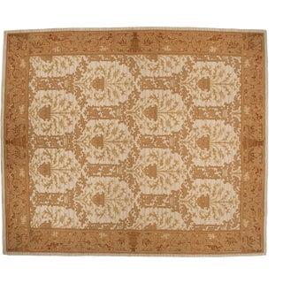 "Vintage Spanish Arts and Crafts Design Square Carpet - 12' X 13'10"" For Sale"